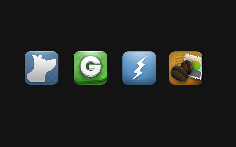 Various iPhone icons