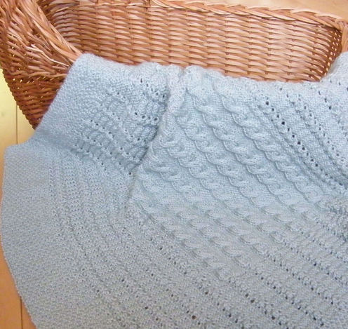 Knitting Pattern Snuggle Blanket : PATTERN FOR BABY SNUGGLE BLANKET Sewing Patterns for Baby