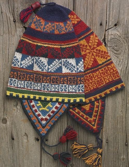 Knitting Pattern Peruvian Hat : CHULLO HAT PATTERNS