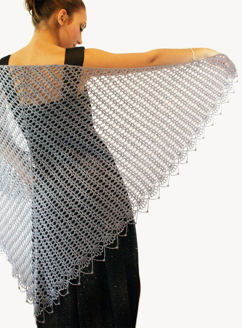 CROCHET TRIANGLE SHAWL PATTERN - Crochet Club