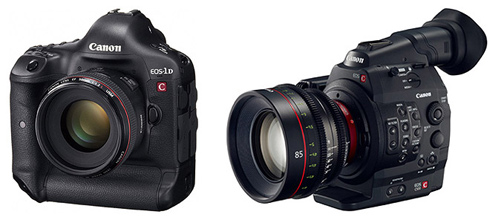Canon 4K Video Cameras