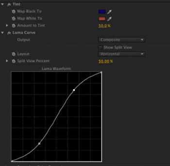 Adobe Premiere Pro Curves