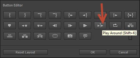 Premiere Pro Buttons