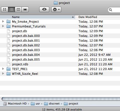 Smoke Project Folder