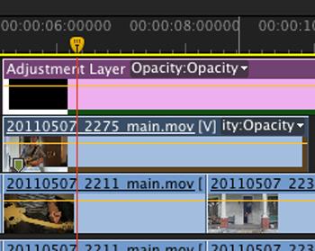 Premiere Pro Adjustment Layer