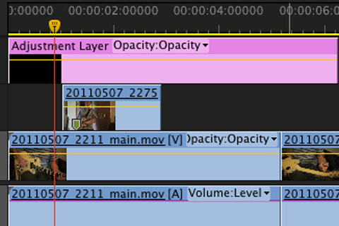 Premiere Pro Adjustment Layers