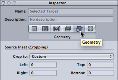 Final Cut Pro X Compressor Geometry