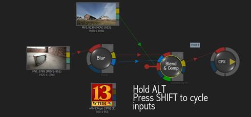 Smoke ConnectFX Shift+Alt