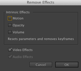 Video Effects Adobe Premiere Pro