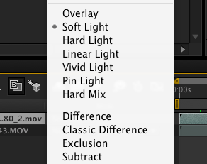 List of Blend Modes