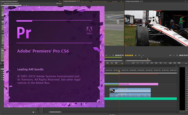 Adobe Premiere Pro Startup