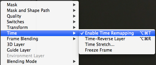"Right click and select ""Time Stretch"""