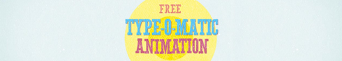 free typeomatic animation