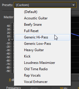 AuditionPresets