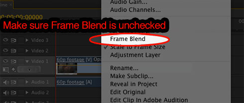 Premiere-Pro-Frame-Blend-unchecked
