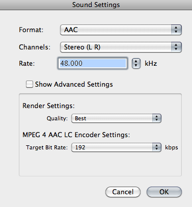 How to create time saving presets in Apple Compressor