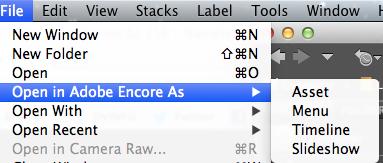 Open in Encore