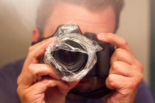 Light Leak Camera Setup