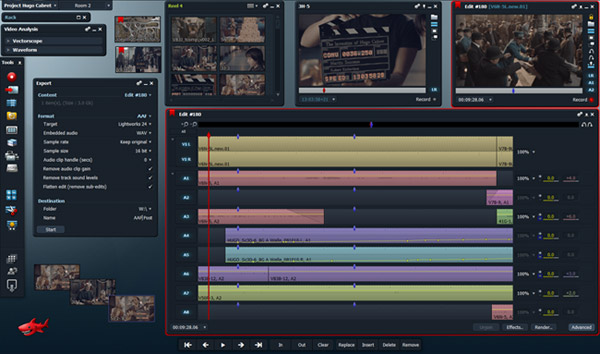 Lightworks Video Editing Applicatoin