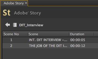 Adobe Story