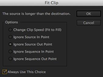 Fit Clip Dialog