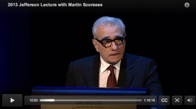 Martin Scorcese on Cinema
