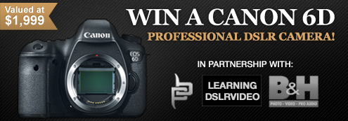 Canon 6D Giveaway