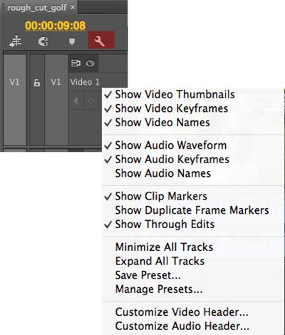 Premiere Pro Settings