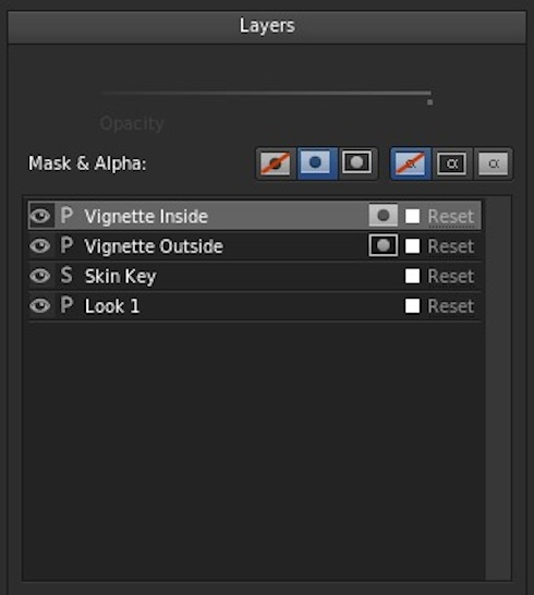Inside Vignette Layer