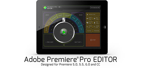 Premiere Pro Video editing controller