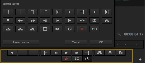 Loop Button in Button Editor