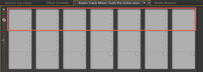 Track Effects Rack