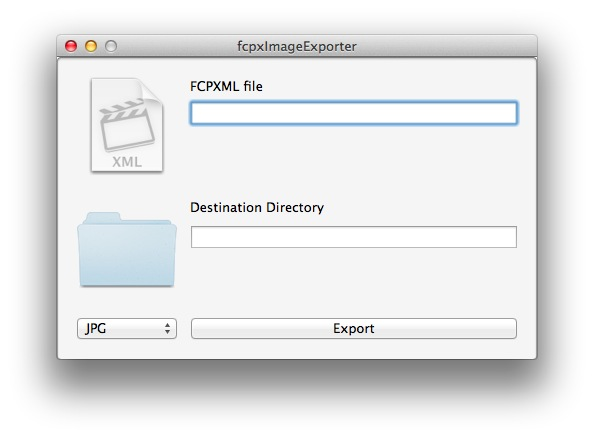 FCPX Image Exporter