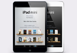 Free iPad Mini PSD