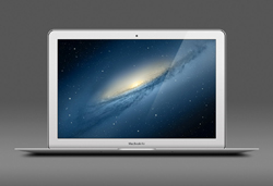 Free MacBook Air PSD