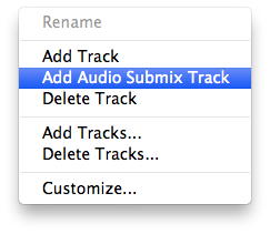 Add submix