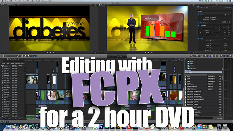 FCPX for long form