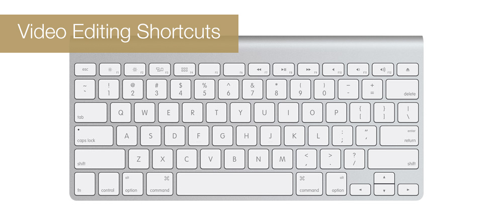 Video Editing Shortcuts