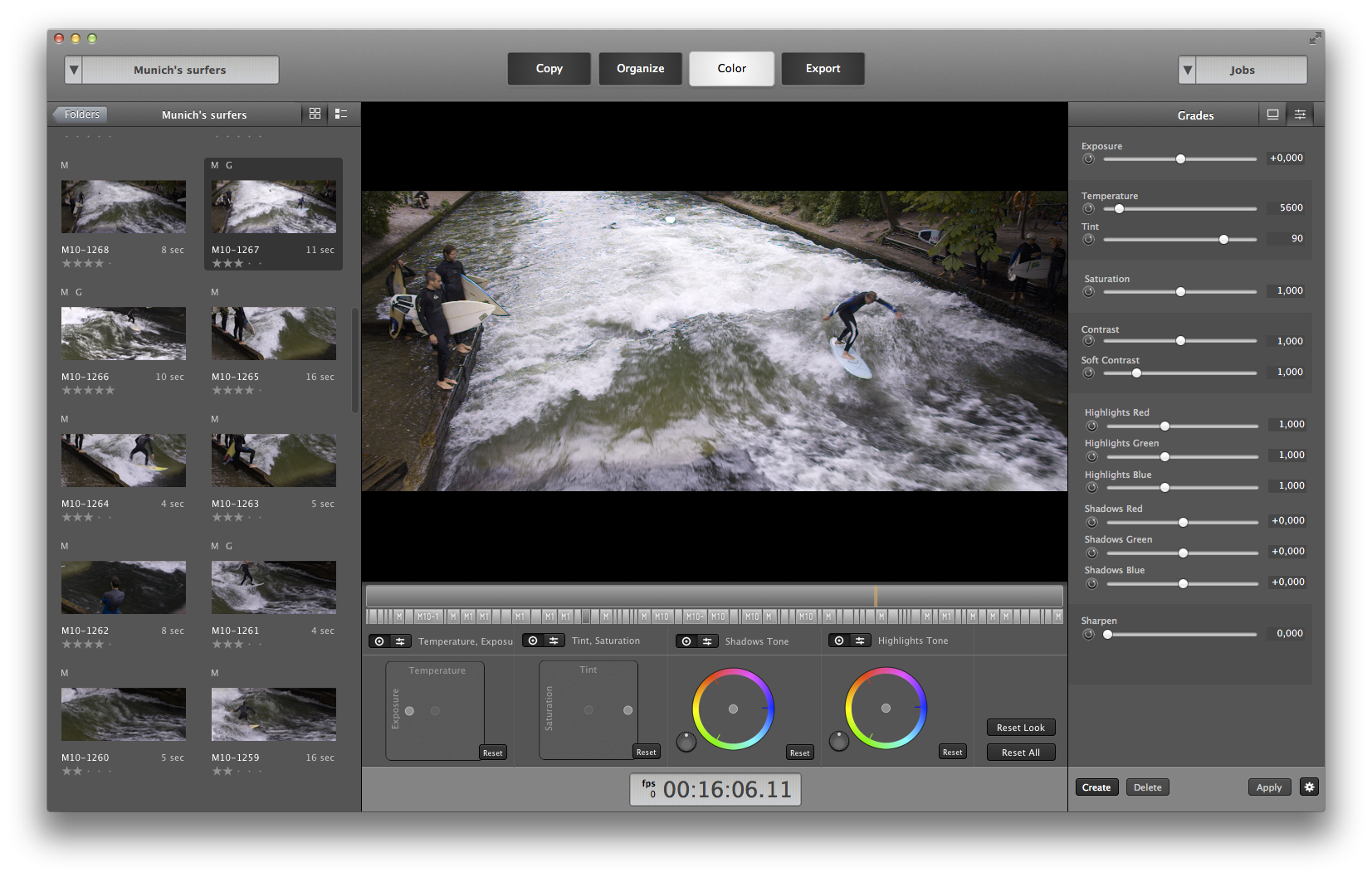 Process RAW footage with Cliphouse
