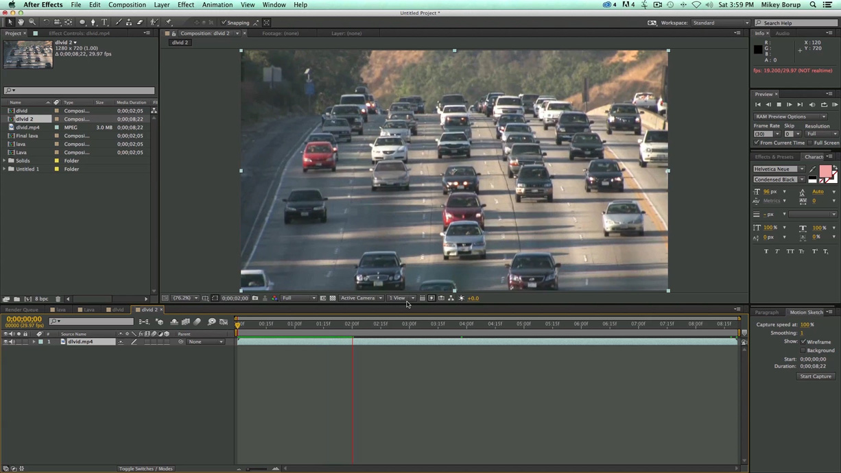 After Effects Video Tutorial: Tiltshift Effect The Beat: A Blog How To  Create