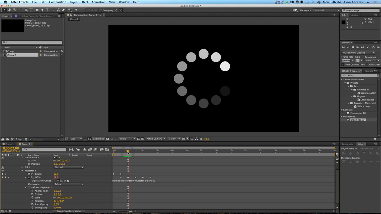 How to Create a Circle Loading Animation in After Effects - The Beat