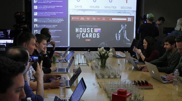 inside house of cards season 2