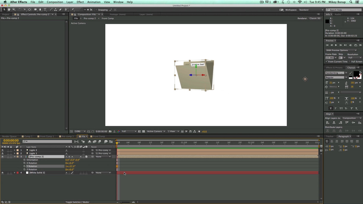 lightworks 14 how to add keyframe