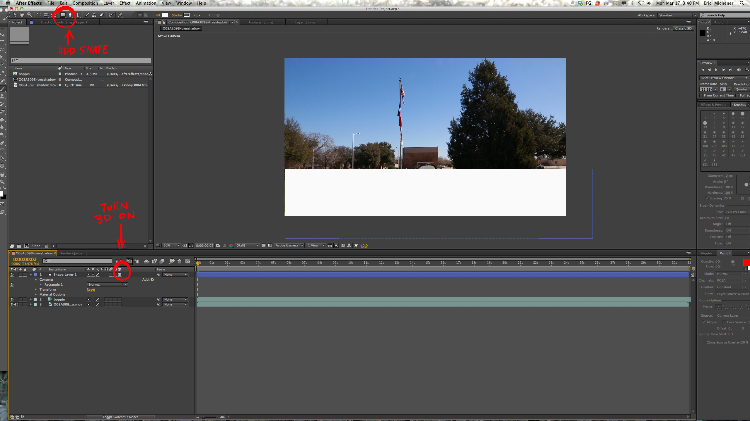 After Effects Settings