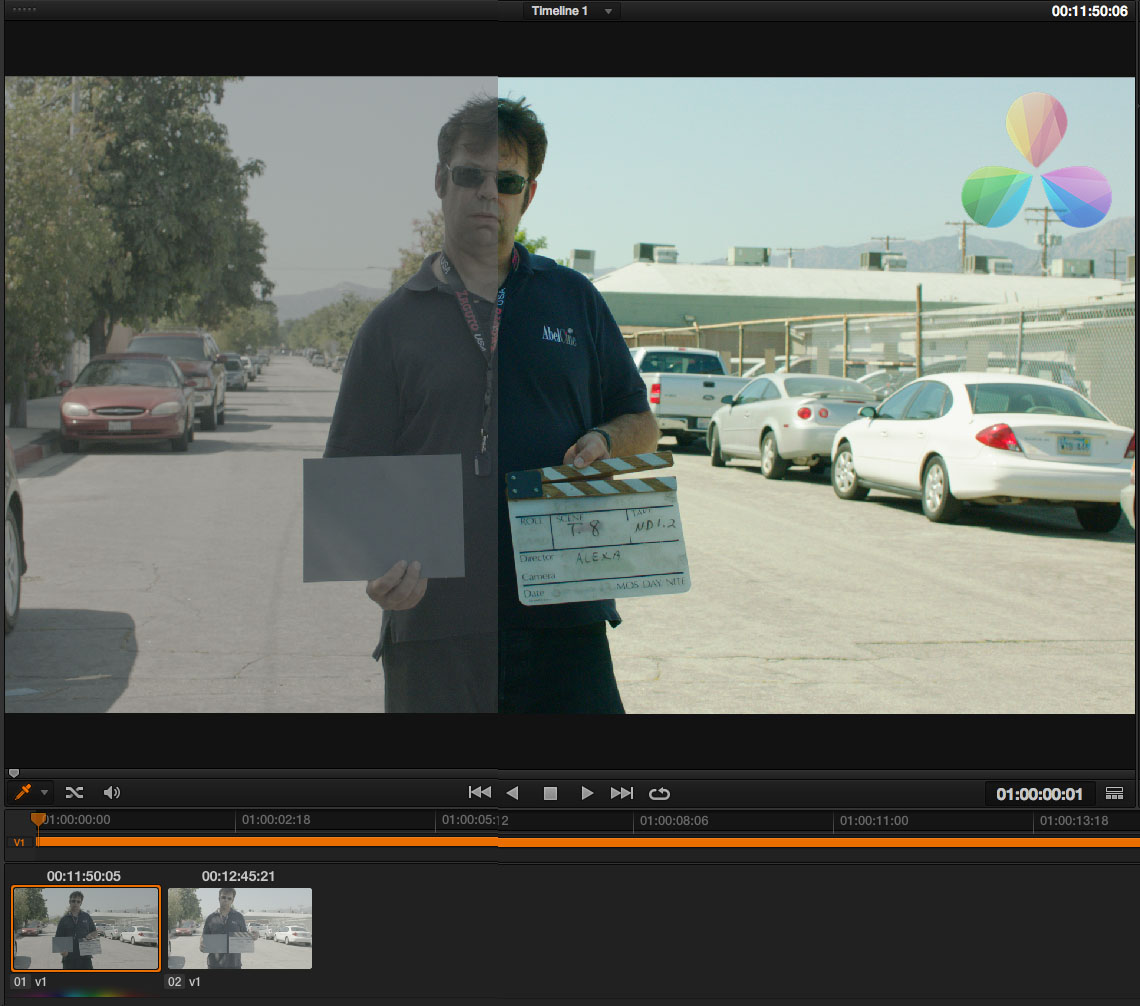 How to apply a LUT in Resolve