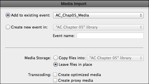 shared editing workflows with FCPX
