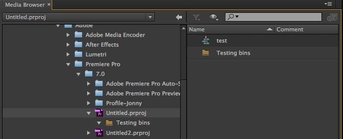 moving a timeline from one premiere pro project to another
