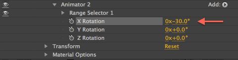 Animator 2 Rotation Value
