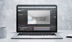 Simulating Depth Using Vanishing Points in After Effects