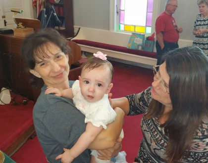 Baptism of WynterRose Ari'el Armstrong
